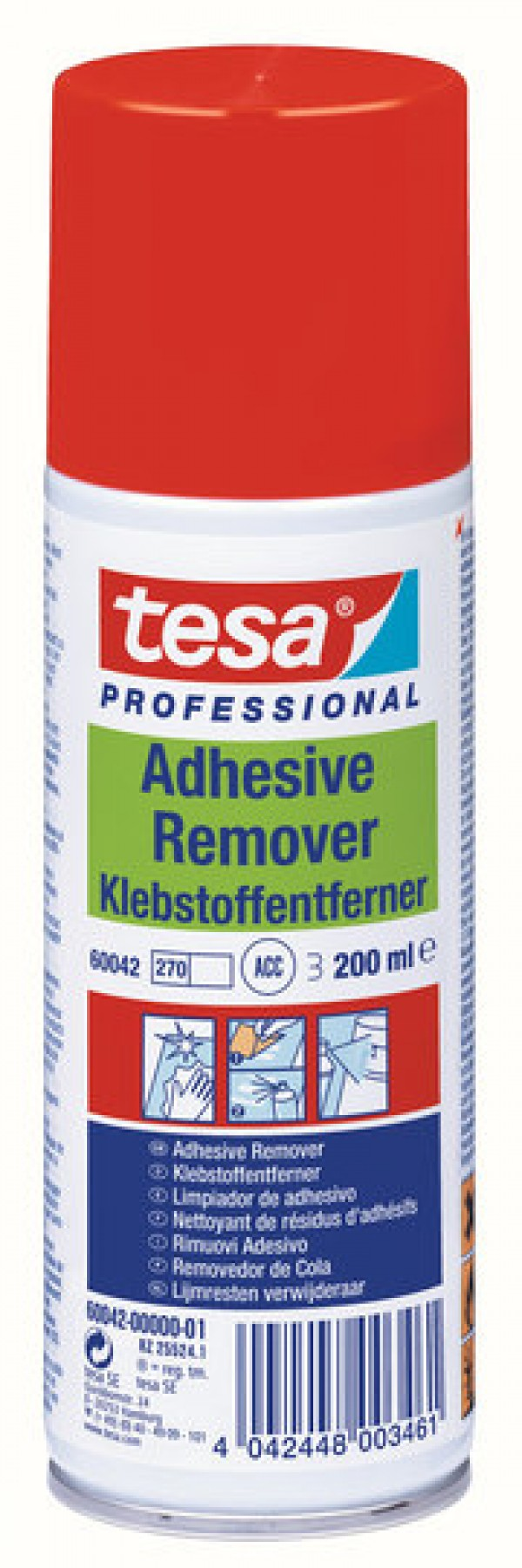Spray de curatat adezivul, TESA