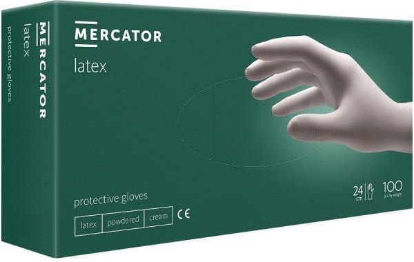 Mănuși de protecție din latex, 100 bucati/cutie, nonmedical