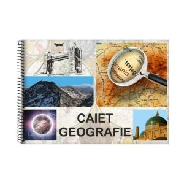 Caiet geografie, arc spirala