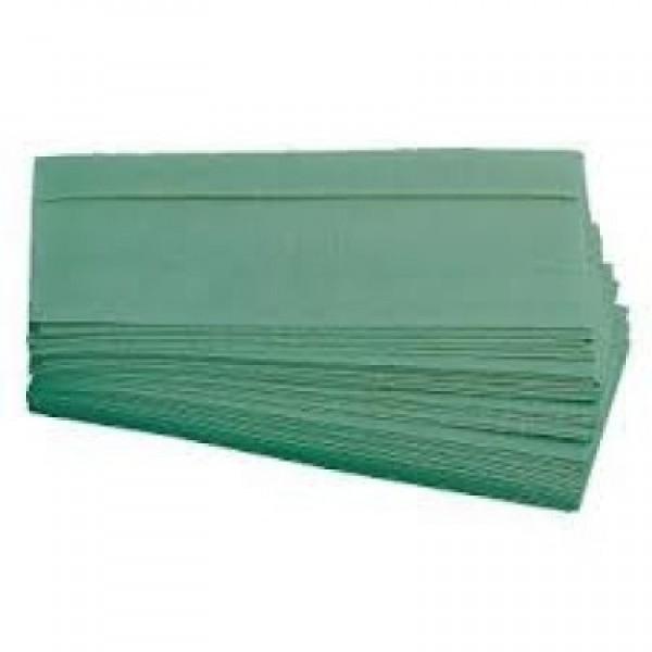 Servetele Z-Fold verde, 250/set, Zig Zag