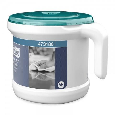 Dispenser prosoape hartie cu derulare centrala, portabil, Reflex, Tork