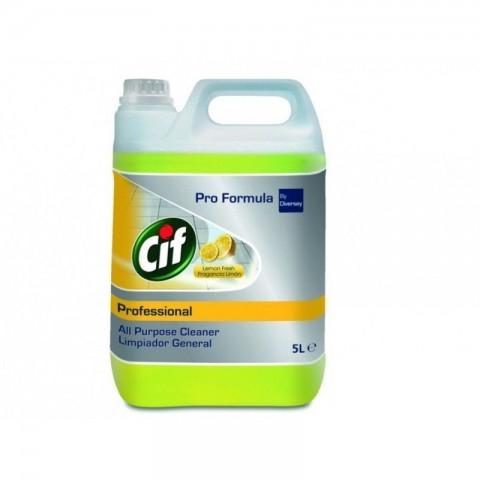 Cif profesional, detergent universal, Lemon Fresh, 5L