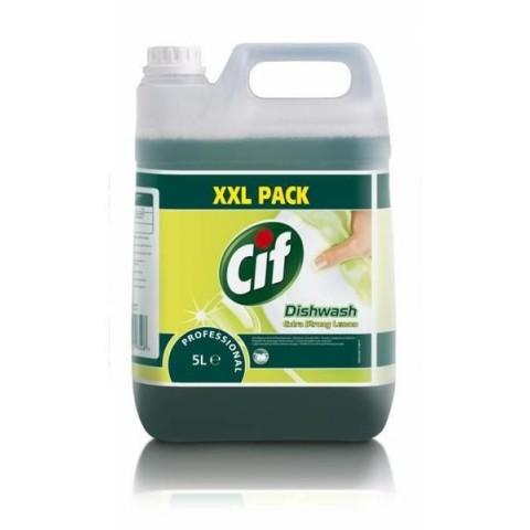 Cif, detergent vase pentru spălare manuală, lemon 5L