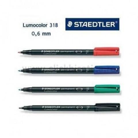 Marker OHP Lumocolor verde 0.6mm, Staedtler
