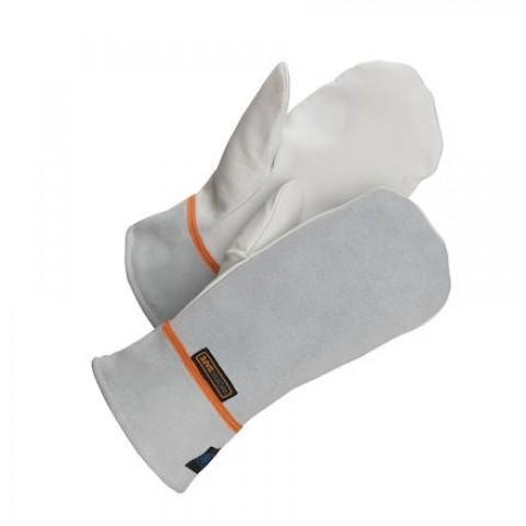 Mănuși de protectie cu un deget, piele, Worksafe
