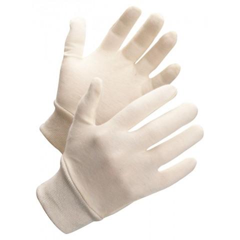 Mănuși de protectie din bumbac cu manseta tricotata, Worksafe