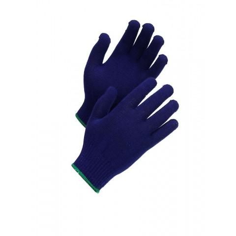 Mănuși de protectie tricotate, albastre, Worksafe