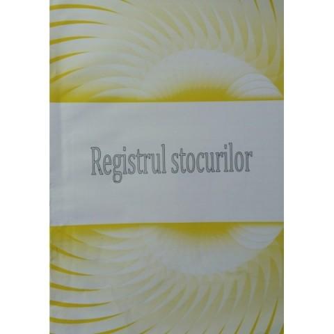 Registru de stocuri, A4, offset
