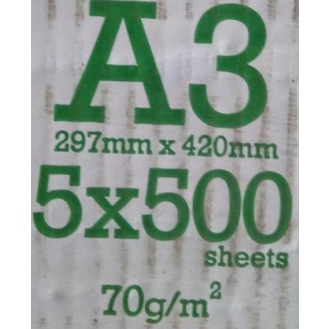 Copy Paper A3, 70 grame/mp, 500 coli/top