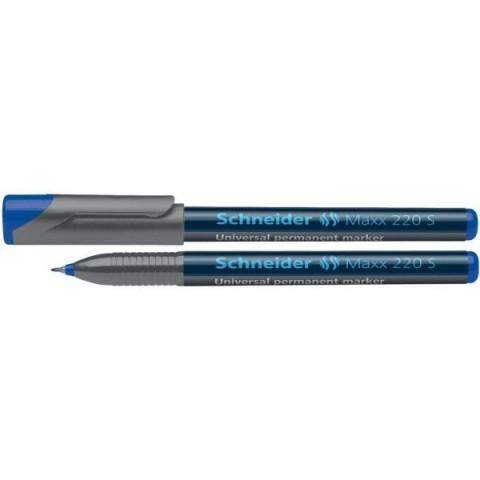 Marker OHP Schneider, S 220, albastru 0.4mm