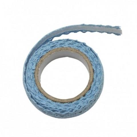 Accesorii craft, dantela autoadeziva, albastru, Daco