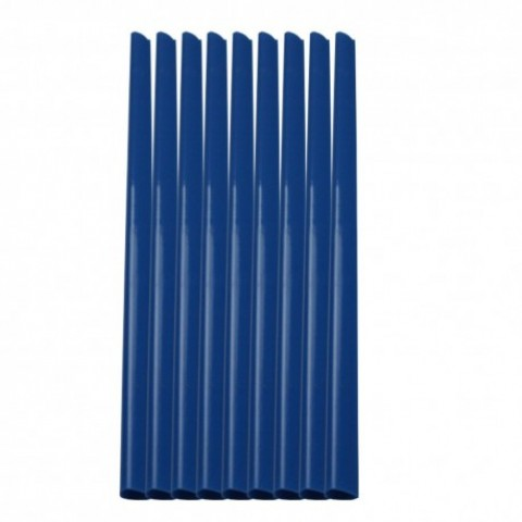 Baghete indosariere, 4mm, albastru, Ecada