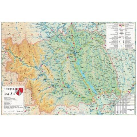 Harta - judeţul BACĂU
