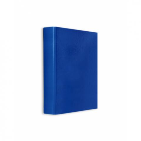 Caiet mecanic, plastifiat, 2 inele, A5, albastru, Daco