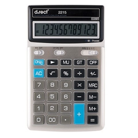 Calculator 12 digiti D.rect 2215
