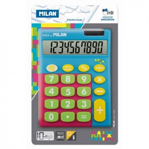 Calculator 10 digiti, mix, 906TMBBL, Milan