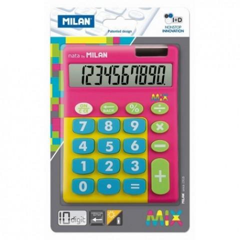 Calculator 10 digiti, mix, 906TMPBL, Milan