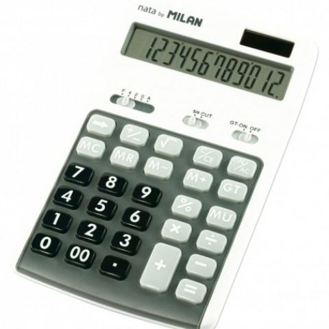 Calculator 12 digiti, 150712GBL, Milan