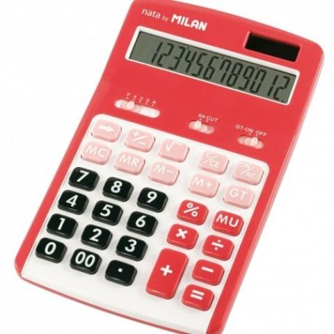 Calculator 12 digiti, 150712RBL, Milan