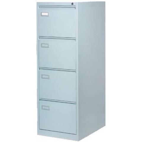 Clasificator metalic, 4 sertare, 620 x 465 x 1330 mm, gri, Ceha
