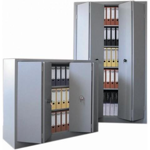 Dulap metalic usi pliabile 1200 x 420 x 1000 mm gri