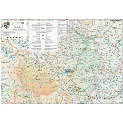 Harta - judeţul CLUJ