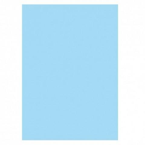 Coperta PVC pentru indosariere, translucid albastru, Ecada