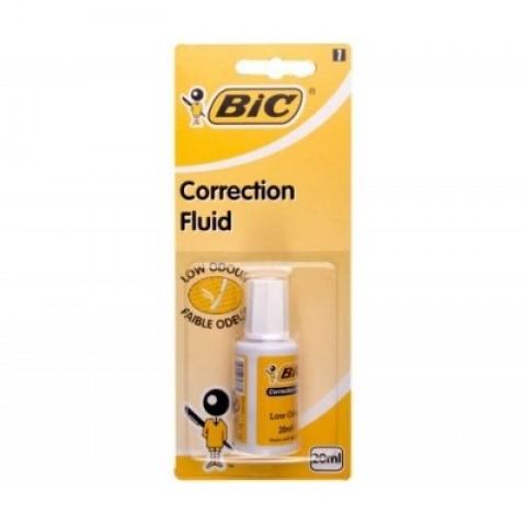 Corector fluid 20ml, alcool, Bic Eco