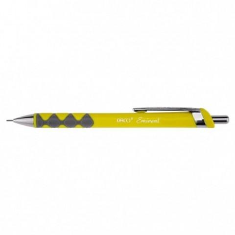 Creion mecanic, Eminent, 0.7 mm, galben, Daco