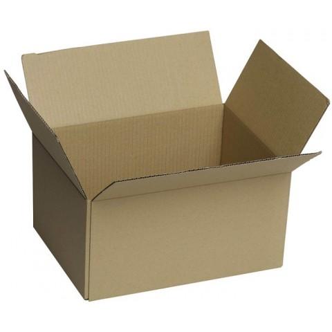 Cutie carton microondul, lipita, 350*250*250 mm