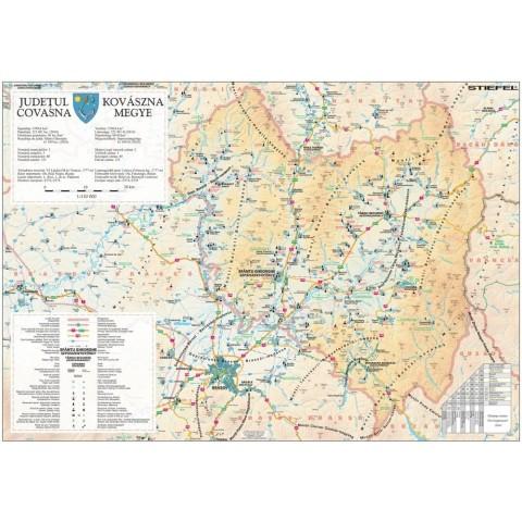 Harta - judeţul COVASNA