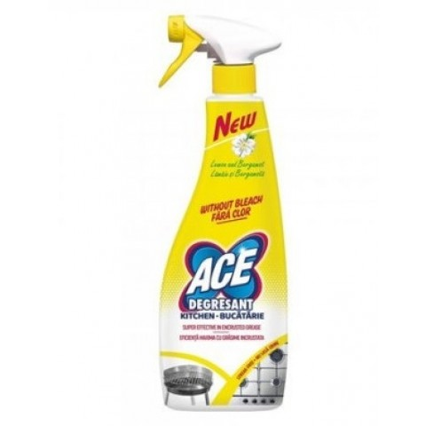 Dezinfectant universal bucatarie cu pulverizator, 750 ml, Ace
