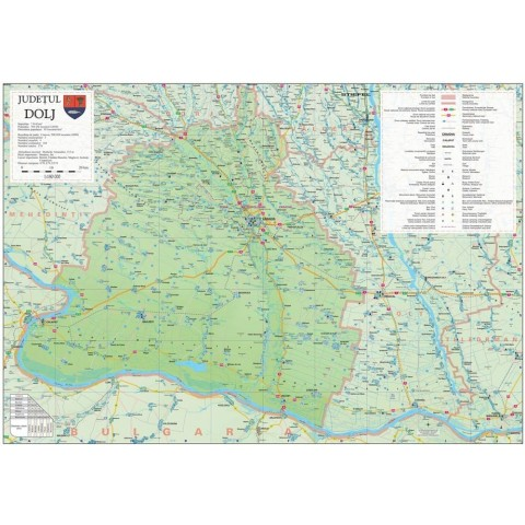 Harta - judeţul DOLJ