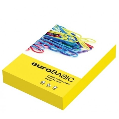 Hârtie Copiator, EuroBasic, format A4, 80 g/mp