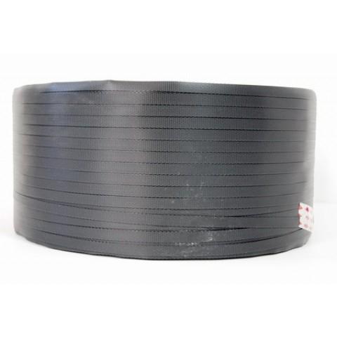 Rola banda PP, Banda de legare polipropilena, 2 km, 16 mm, neagra