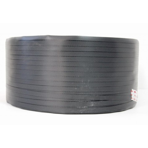 Rola banda PP, Banda de legare polipropilena, 2 km, 9 mm, neagra