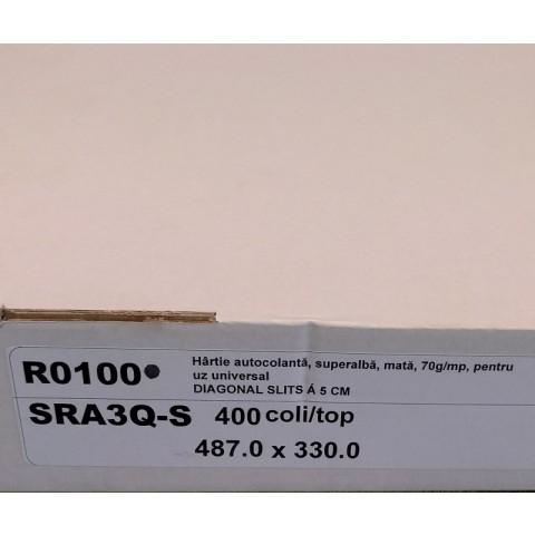 Etichete autoadezive multifuncţionale, 487x330 mm, 400 coli SRA3