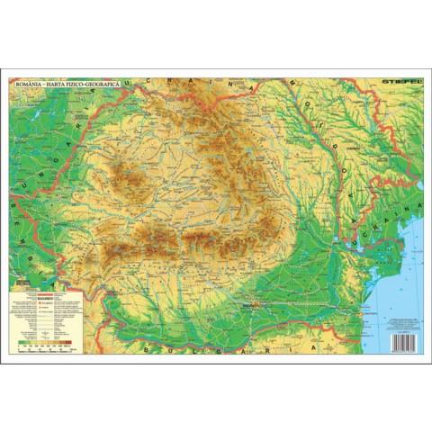 Romania Fizica – Mapa de birou