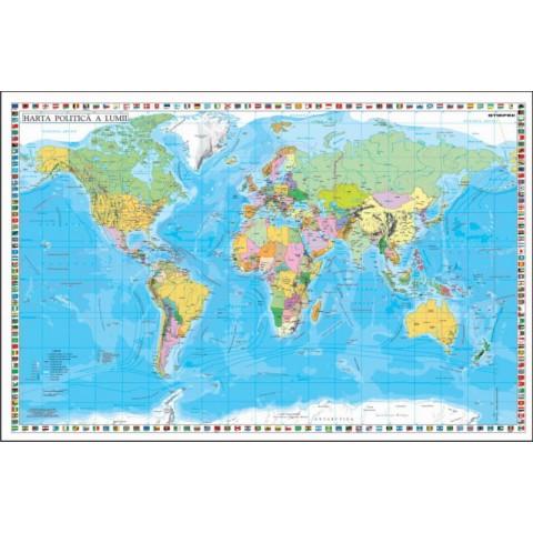 Statele Lumii cu Steaguri – Mapa de birou