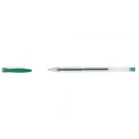 Roller cu gel 0.3mm, D.rect - verde