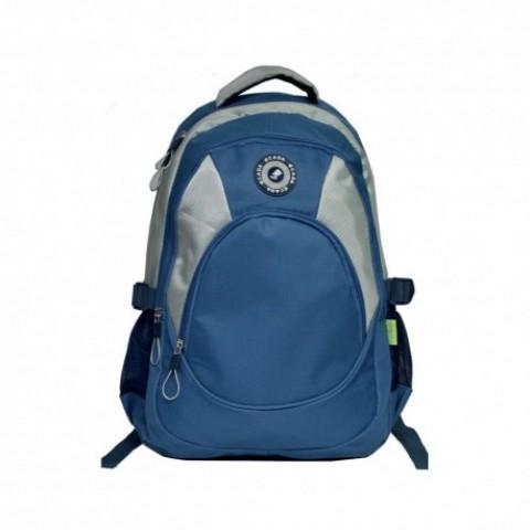 Ghiozdan adolescenti si scolari, albastru, 46 cm, Ecada