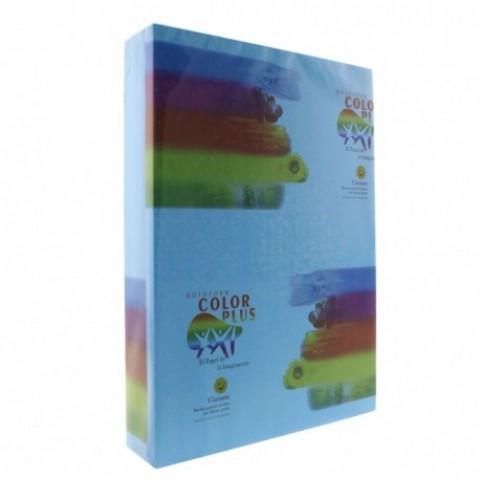 Hartie colorata, A4, 80g/mp, albastru inchis, 500 coli, Clariana