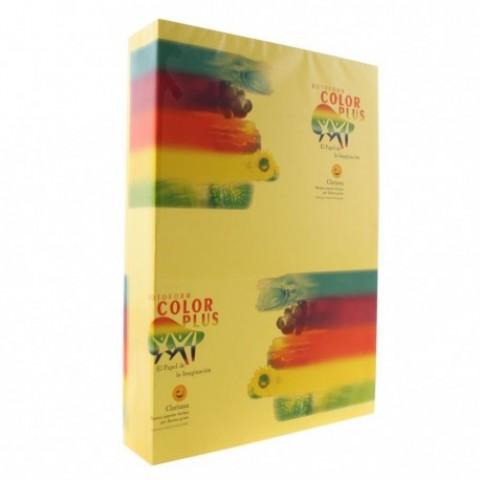 Hartie colorata, A4, 80g/mp, galbena, 500 coli, Clariana