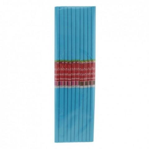 Hartie creponata, albastru deschis, Daco