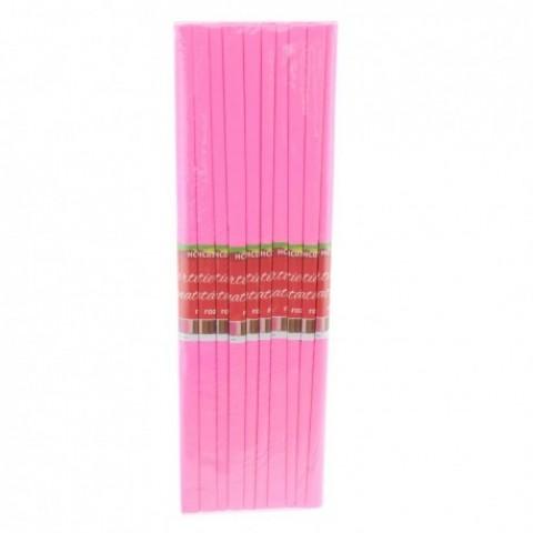 Hartie creponata, roz, Daco