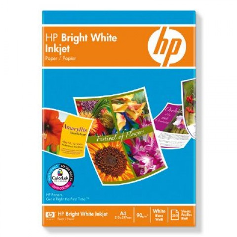 Hârtie HP super albă pentru inkjet (C5977B)