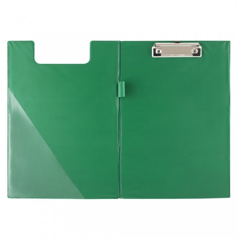 Clipboard dublu, A4, verde, D.rect