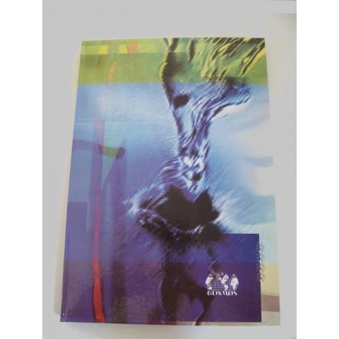 Registru cartonat A5, 100 file, matematica, coperta lucioasa