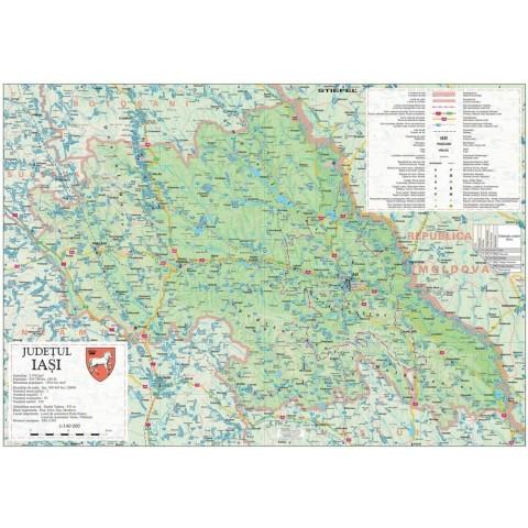 Harta - judeţul IAŞI