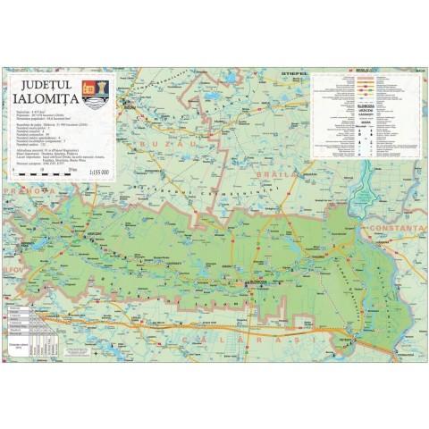 Harta - judeţul Ialomita